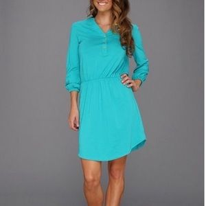 Lilly Pulitzer teal dress